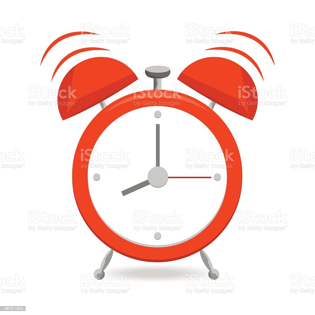royalty free single object and white background and alarm clock clip rh istockphoto com broken alarm clock clipart digital alarm clock clip art