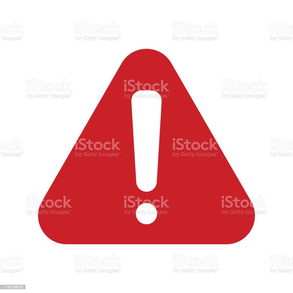 red alert  Icon - Royalty-free Acidentes e Desastres arte vetorial