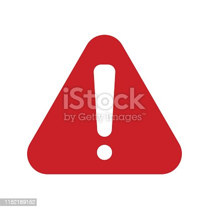 istock red alert  Icon 1152189152