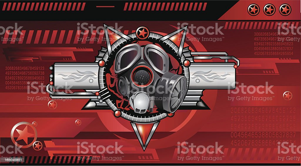 Red Alert royalty-free stock vector art