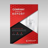 Multipurpose company annual report design in A4 format size