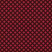 Red and black circles design