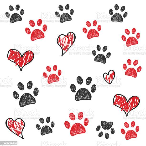 Red and black doodle paw print background vector id1025303272?b=1&k=6&m=1025303272&s=612x612&h=f4jwarbzq pavlivkf82fs08pa9y dkpesdxkr4dq58=