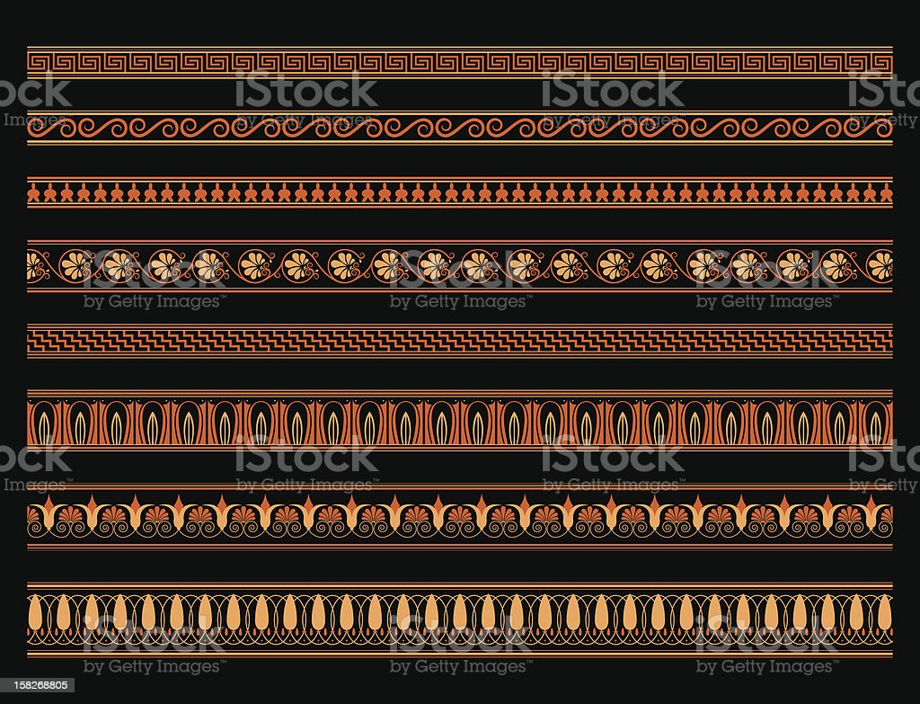 Red and black greek vase patterns stock vector art more images red and black greek vase patterns royalty free red and black greek vase patterns stock reviewsmspy