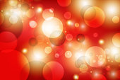 USA, India, Red, Backgrounds, Defocused, circle, Christmas, Gold, Light - Natural Phenomenon