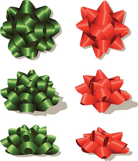 ilustrações, clipart, desenhos animados e ícones de conjunto de design de natal, laço - laço