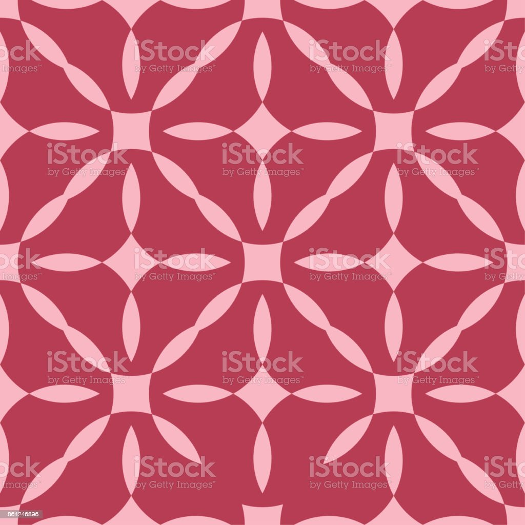 Red and pale pink geometric ornament. Seamless pattern royalty-free red and pale pink geometric ornament seamless pattern stock vector art & more images of abstract