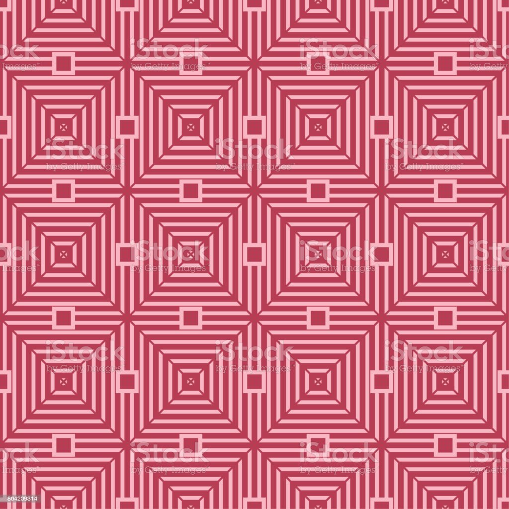 Red and pale pink geometric seamless pattern royalty-free red and pale pink geometric seamless pattern stock vector art & more images of abstract