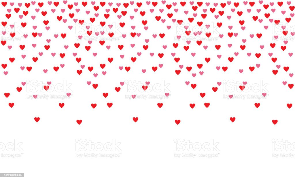 Red And Pink Heart Shape Background Wallpaper Gorgeous Hearts