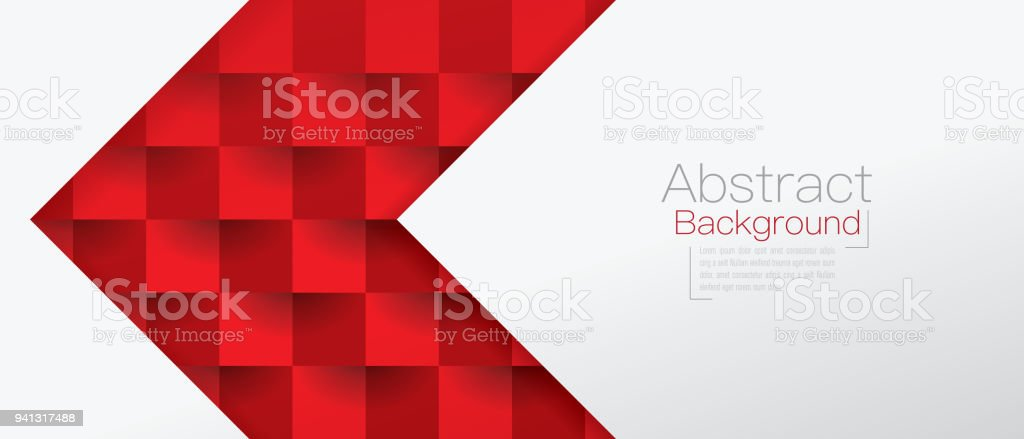 Red and white abstract background vector. royalty-free red and white abstract background vector stock illustration - download image now