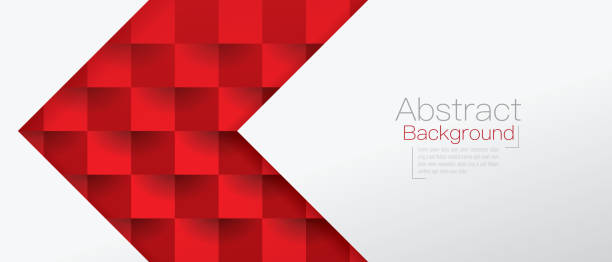 Red and white abstract background vector. Vector illustration was made in eps 10 with gradients and transparency. geometric abstract background stock illustrations