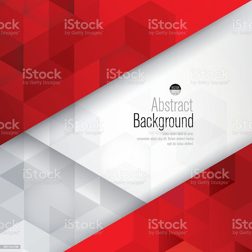 Red and white background vector. vector art illustration