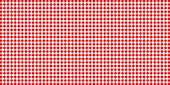 istock Red and white checked tablecloth pattern, checkered tablecloth for picnic - stock vector 1180802777