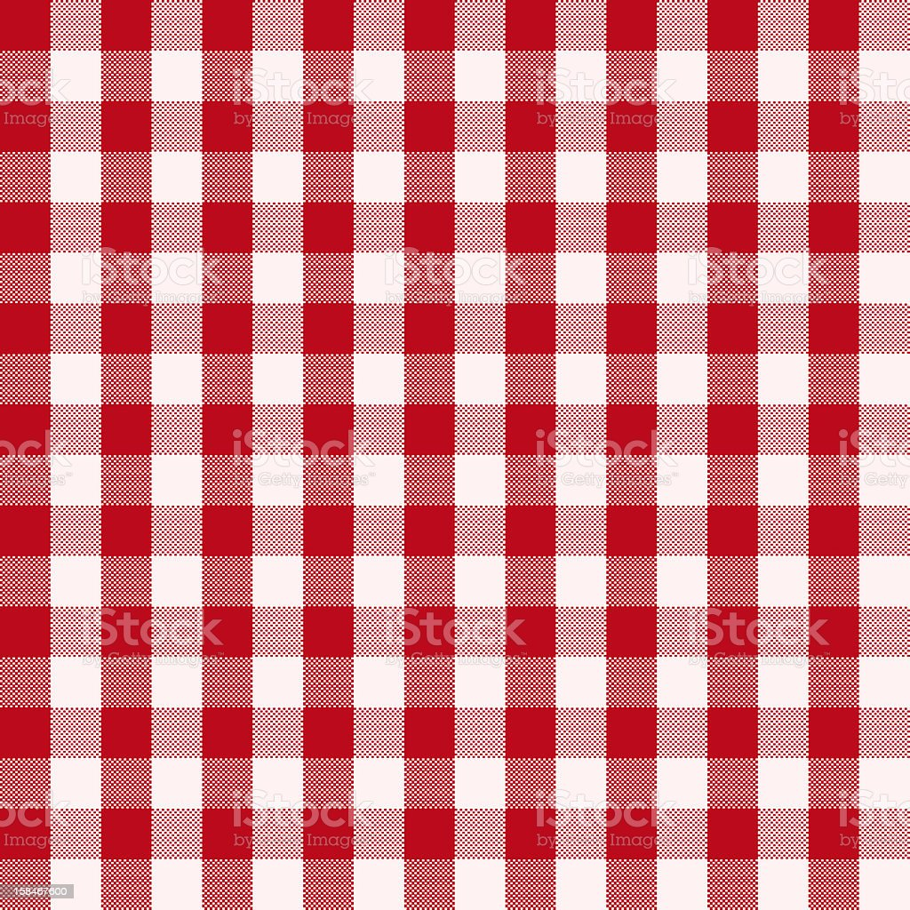 red and white cloth vector art illustration