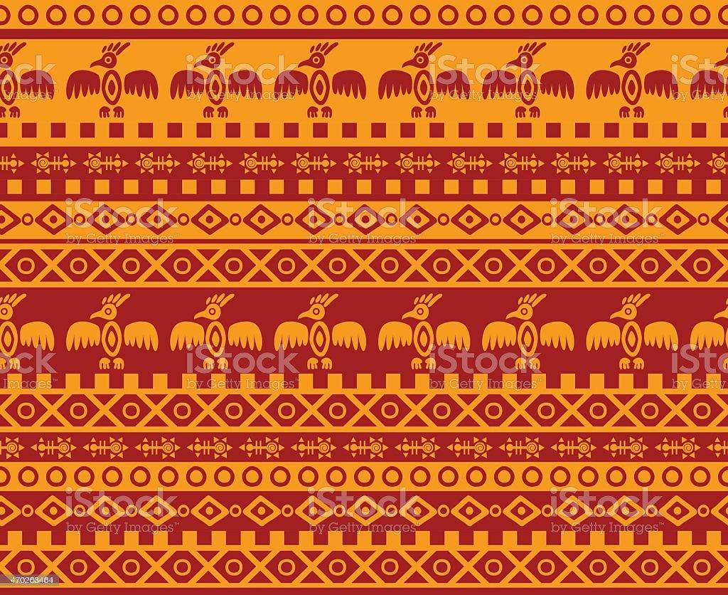 eagle patrón - ilustración de arte vectorial