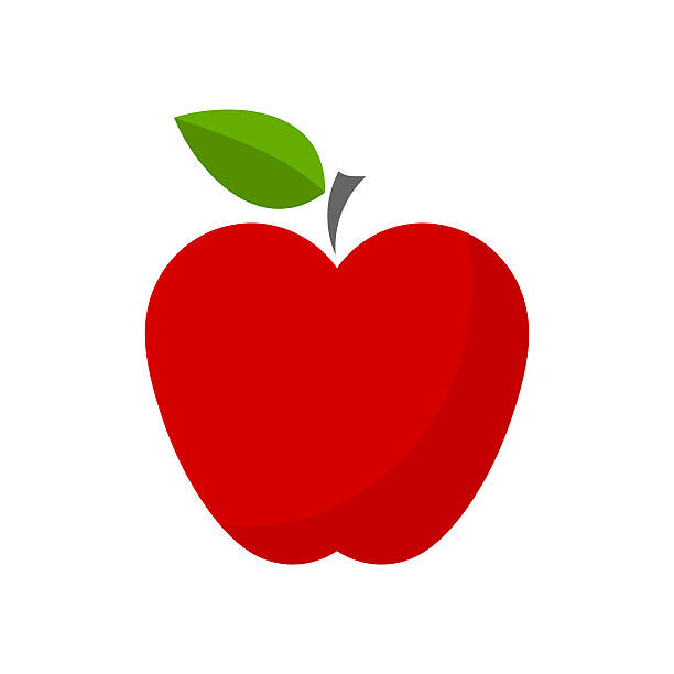 Royalty Free Red Apple Clip Art Vector Images
