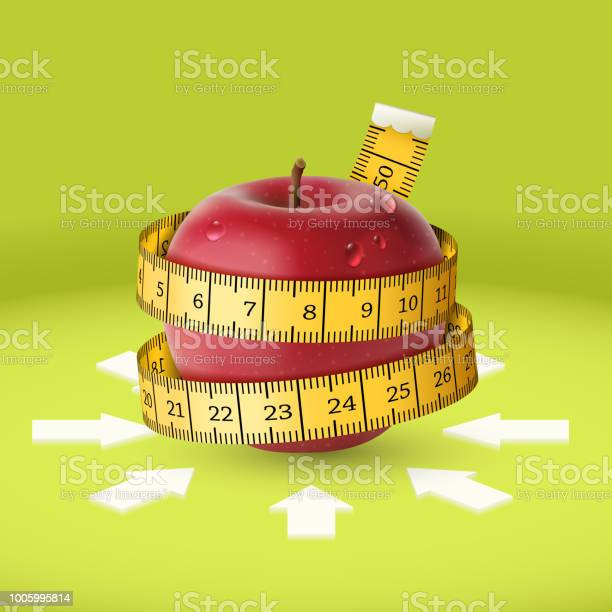 Red apple yellow measuring tape arrow diet vector id1005995814?b=1&k=6&m=1005995814&s=612x612&h=9 etauq4qnt3bk 4zpu7jmsccqhffzjyryfazcpdhyc=