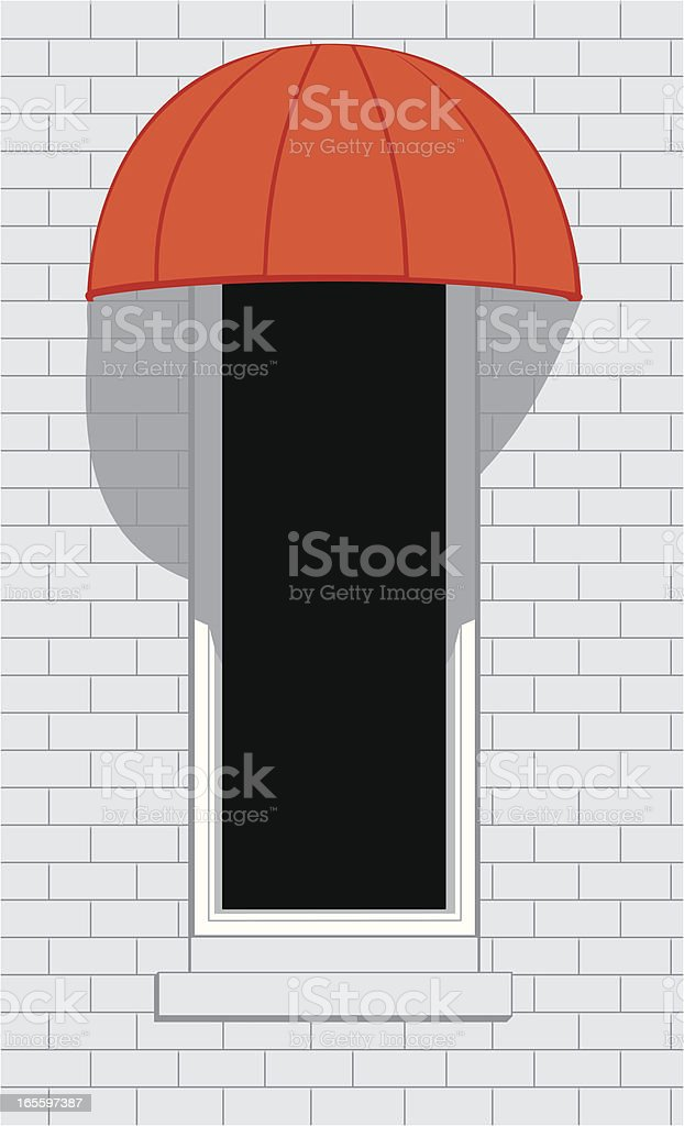 Red Awning royalty-free red awning stock vector art & more images of architectural feature