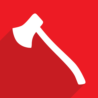 Red Axe Icon