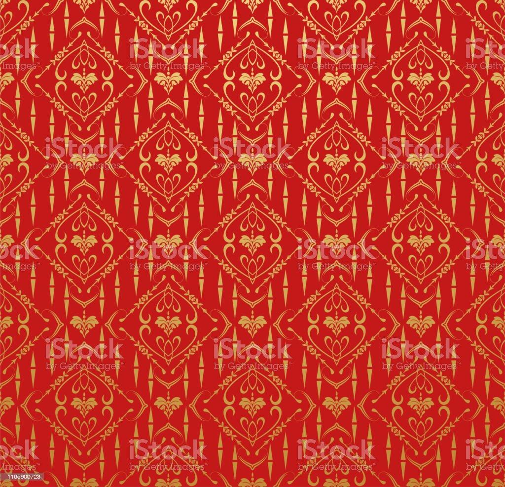 赤い背景中国の和風のアジアの壁紙 アジア大陸のベクターアート素材や画像を多数ご用意 Istock