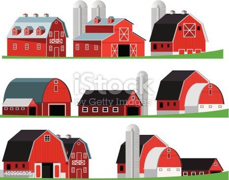 istock Red Barn 459966805