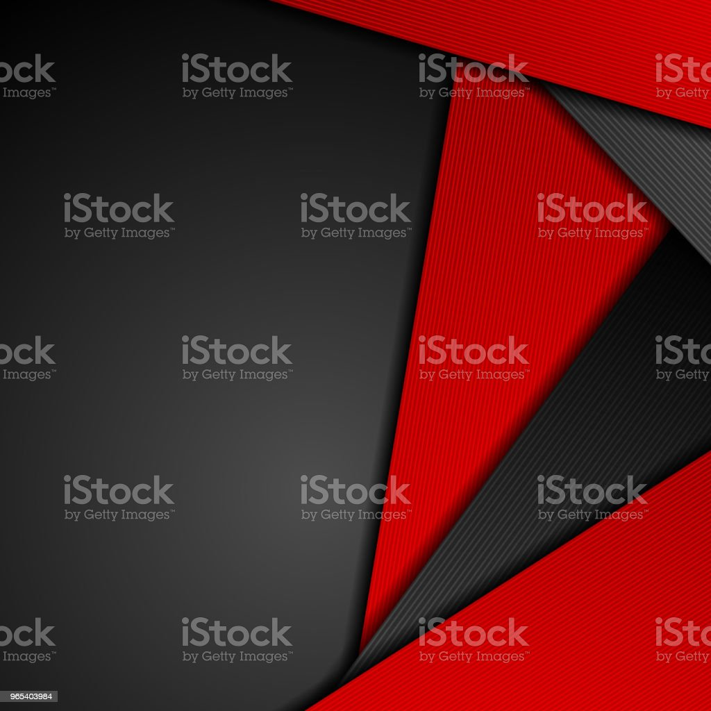 Red black tech concept abstract background royalty-free red black tech concept abstract background stock vector art & more images of abstract