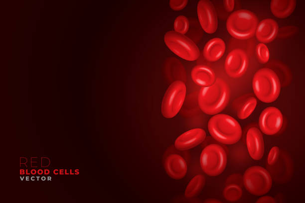 red blood cells flowing background red blood cells flowing background red blood cell stock illustrations