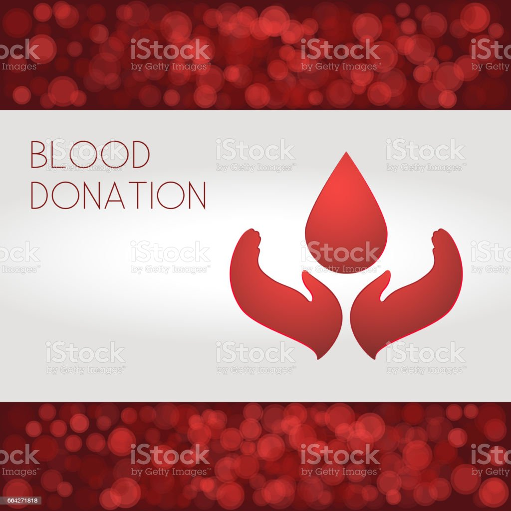 Red blood cells Vector illustration vector art illustration