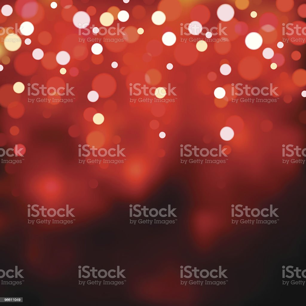 Red blurry lights. EPS8 royalty-free stock vector art