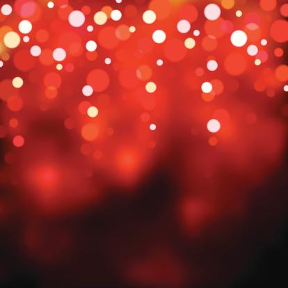 Red Blurry Lights Eps8 Stockvectorkunst en meer beelden van Achtergrond - Thema