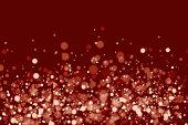 Christmas, Lighting Equipment, Glitter, Star Shape, Christmas Lights, Red,