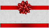 istock red bow and ribbon illustration for christmas and birthday decorations 1189389398