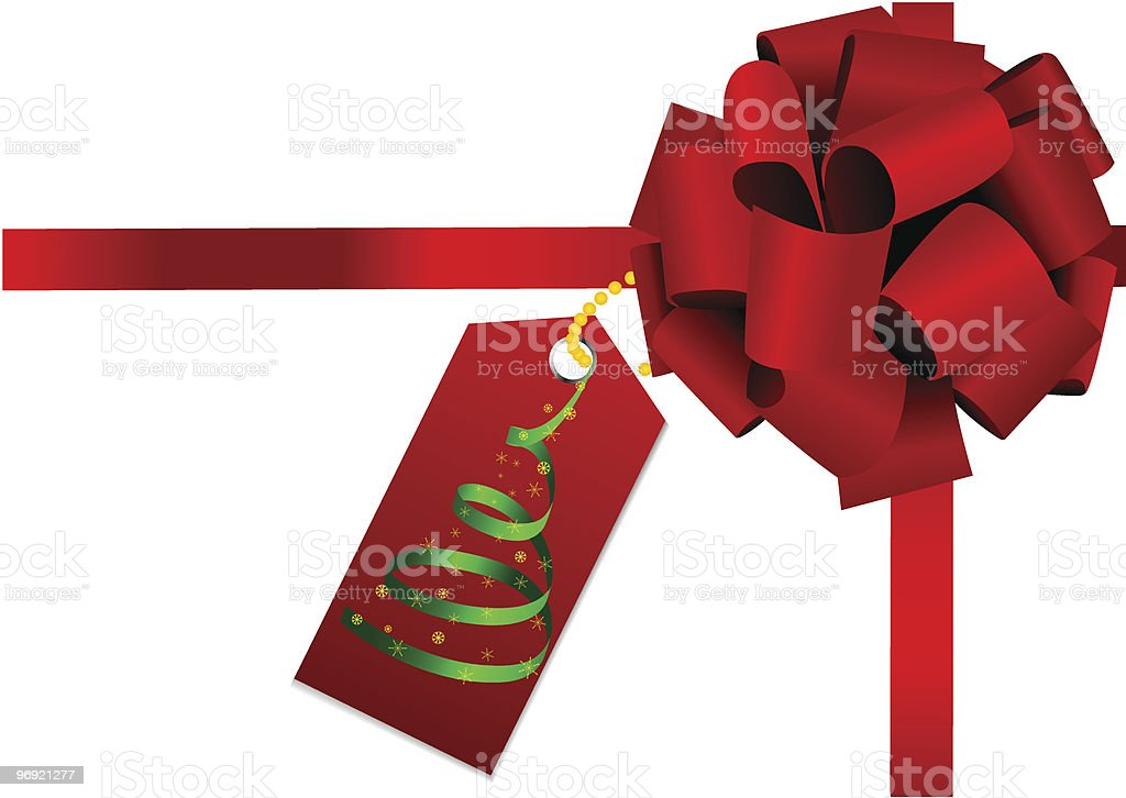 Red bow royalty-free red bow stock vector art & more images of box - container