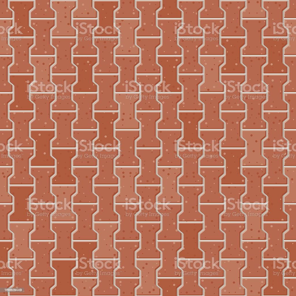 Red brick background royalty-free stock vector art