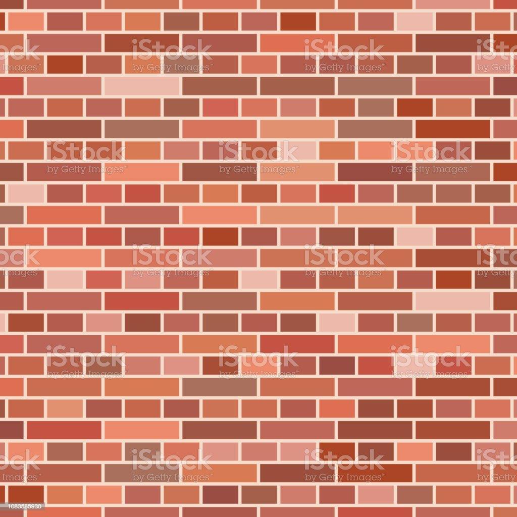 Mur En Brique Rouge fond de mur de brique rouge vecteurs libres de droits et