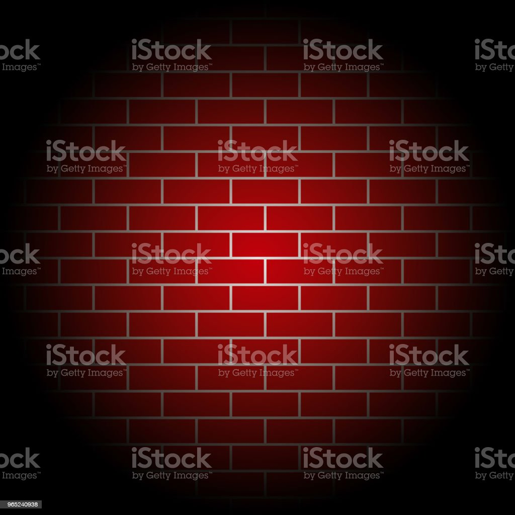 red brick walls Vector Template Design royalty-free red brick walls vector template design stock vector art & more images of architecture