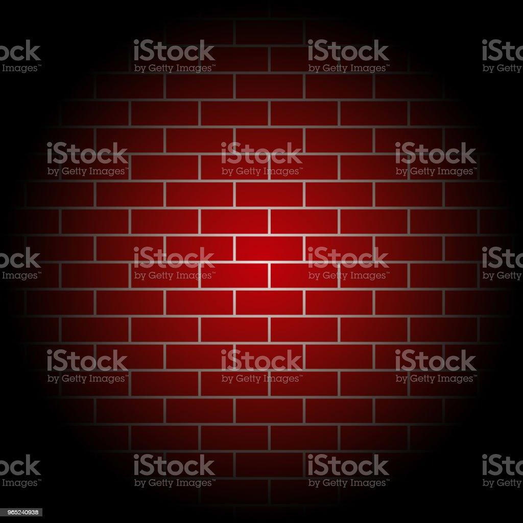 red brick walls Vector Template Design red brick walls vector template design - stockowe grafiki wektorowe i więcej obrazów architektura royalty-free