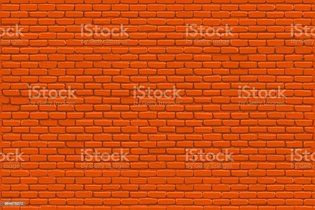 Red bricks wall royalty-free red bricks wall stock vector art & more images of abstract