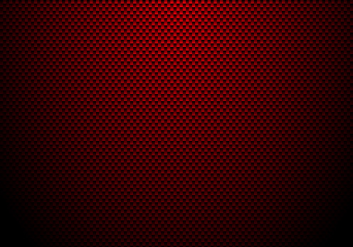 Red Carbon Fiber Background And Texture With Lighting ...