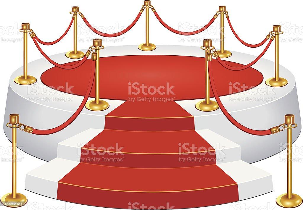 Alfombra roja y cuerda de terciopelo ilustración de alfombra roja y cuerda de terciopelo y más banco de imágenes de acontecimiento libre de derechos