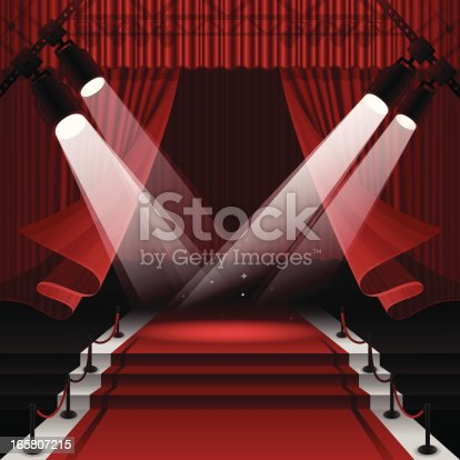 istock Red Carpet Stage 165807215