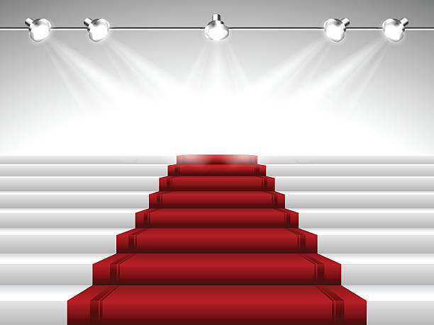 Best Red Carpet Illustrations Royalty Free Vector