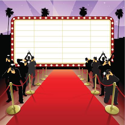 Red Carpet Stock Illustration - Download Image Now