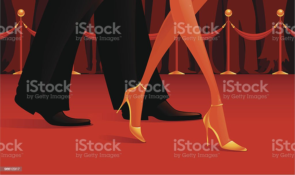 Red Carpet - Royalty-free Actor stock vector