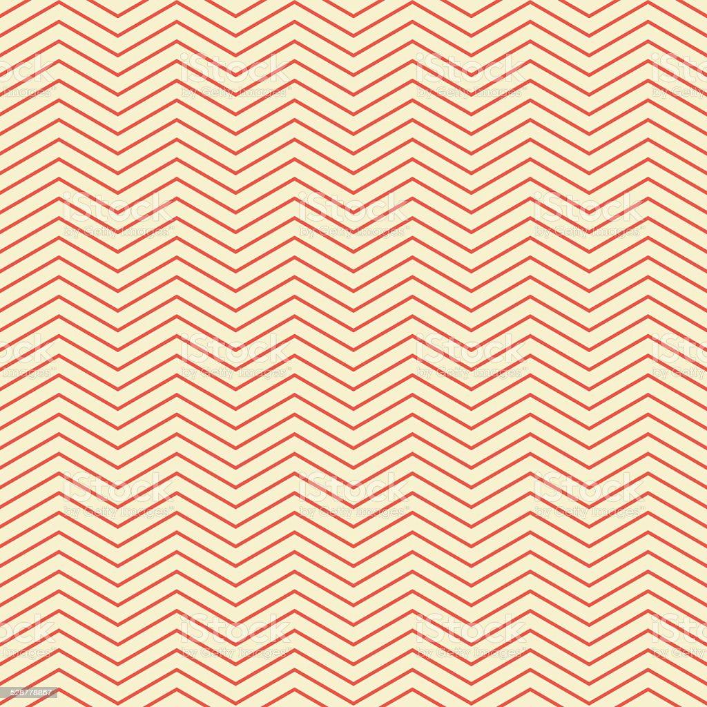 red chevron pattern vector art illustration