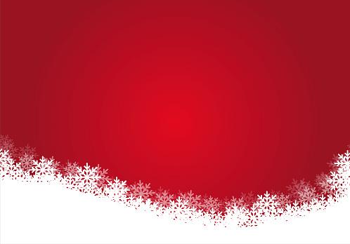 Red christmas background, illustration.