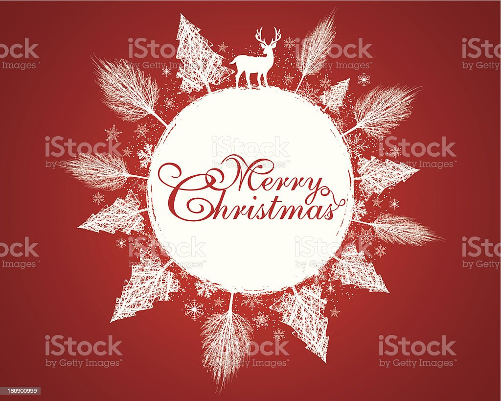 Red Christmas Background royalty-free red christmas background stock vector art & more images of abstract