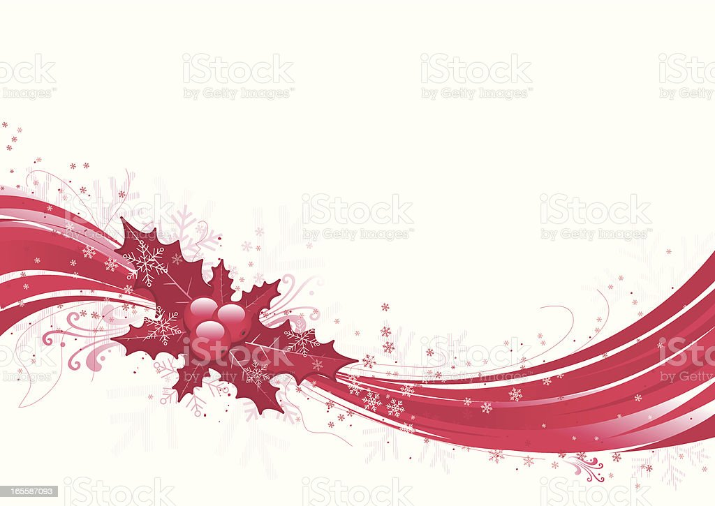 Red Christmas flow royalty-free red christmas flow stock vector art & more images of backgrounds