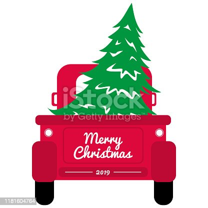 My Christmas Elf Clipart Christmas Elves Red Tree Truck Ball HandPainted Christmas Elements Balls clipart PNG Christmas Tree Truck Clipart