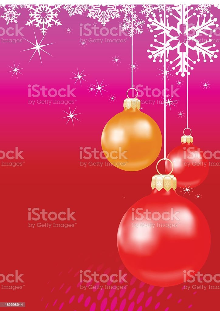 Red Christmas Wallpaper Stock Illustration Download Image Now